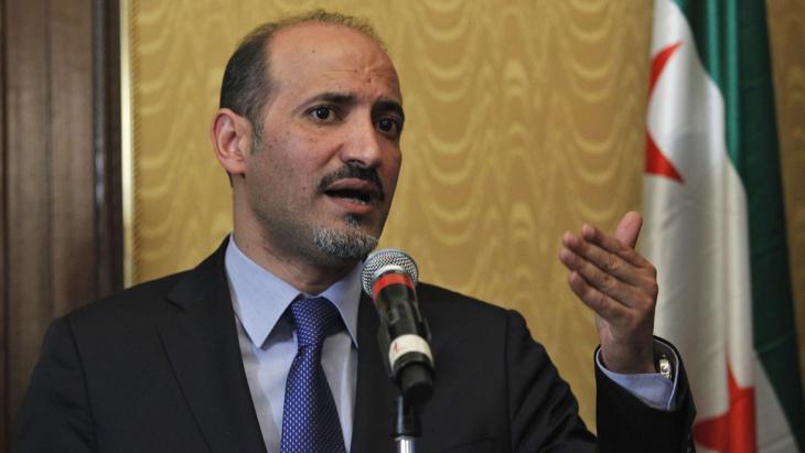 أحمد الجربا رئيس الائتلاف الوطني السوري. Foto: Reuters