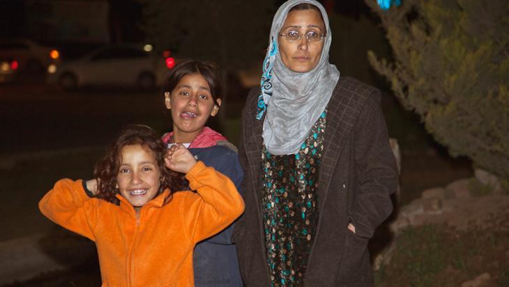 لاجئون سوريون في العراق. Foto: C. Platt
