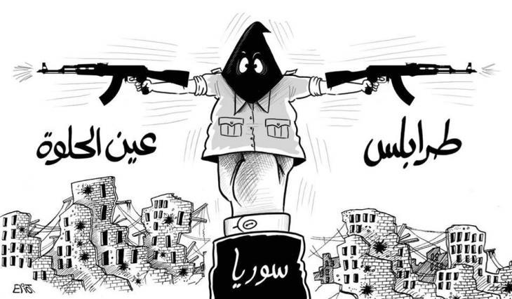 كاريكاتور من مجلة الدبّور. Foto: Facebook Ad-Dabbour/ Eliot