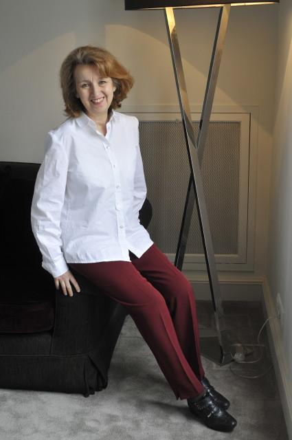 الكاتبة التونسية هالة الباجي. Foto: Hélé Béji