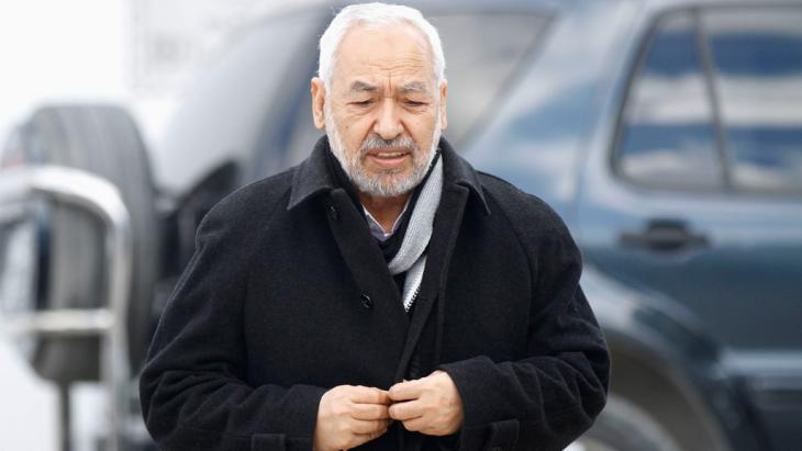 رائد الغنوشي رئيس حركة النهضة الإسلامية التونسية. Foto: Reuters