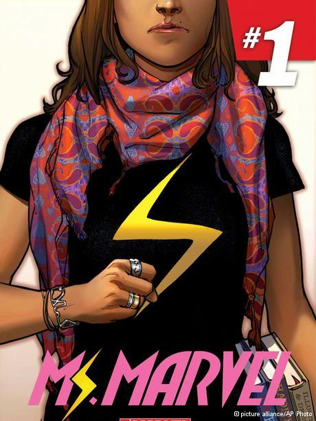 Ms Marvel alias Kamala Khan; Foto: picture alliance/AP Photo