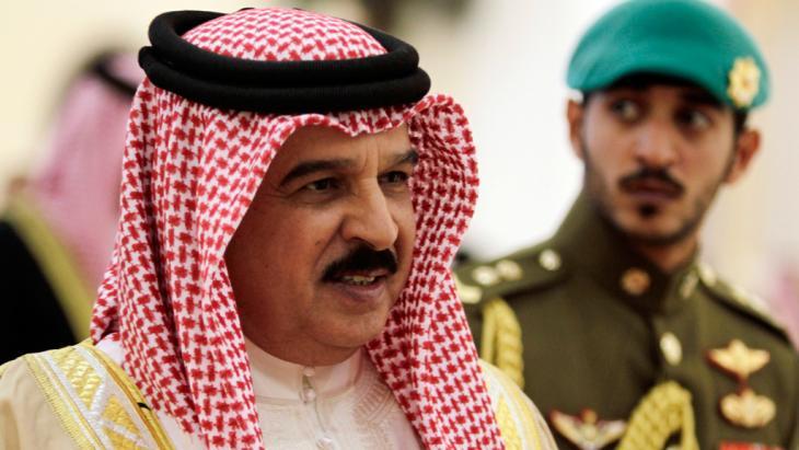 ملك البحرين حمد بن عيسى آل خليفة. Foto: dapd