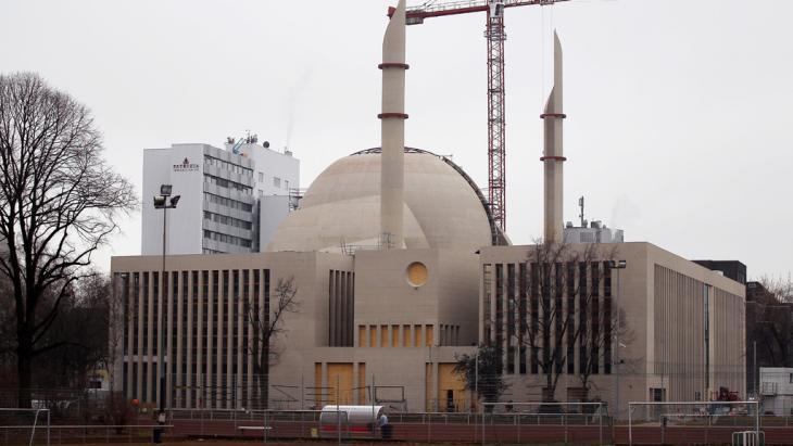 The new mosque in the Ehrenfeld district of Cologne (photo: dpa/picture-alliance)
