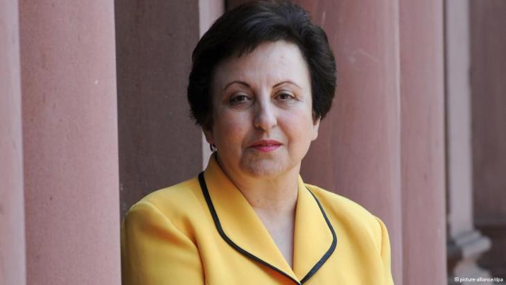 Friedensnobelpreisträgerin Schirin Ebadi; Foto: dpa/picture-alliance