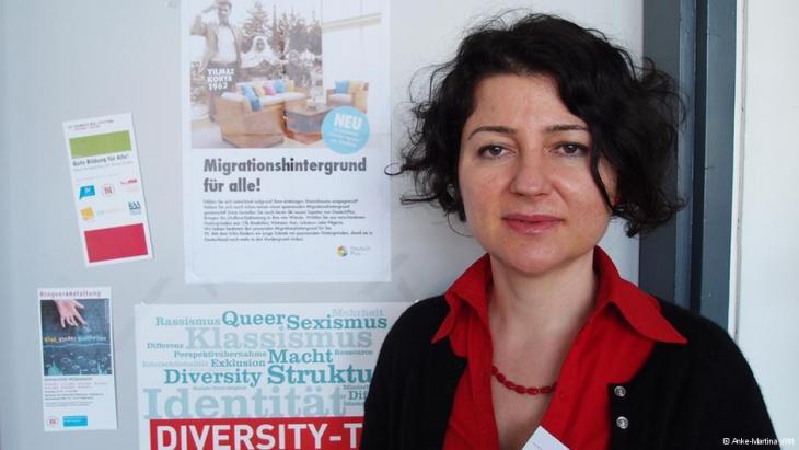 Wissenschaftlerin Nurten Karakaş; Foto: Anke-Martina Witt