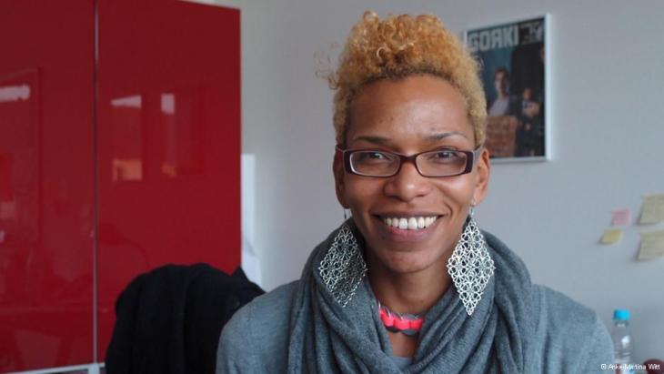 Saraya Gomis, Lehrerin an einer Berliner Brennpunktschule; Foto: Anke-Martina Witt