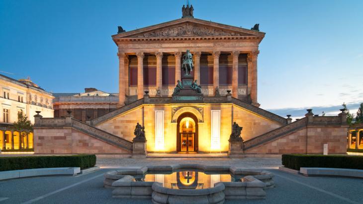 المعرض القومي القديم في برلين. Foto: Fotolia/mkrberlin
