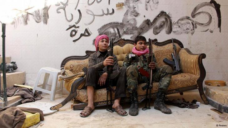 مقاتلو الجيش السوري الحر