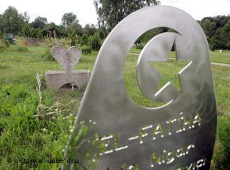 Islamischer Friedhof in Berlin-Gatow; Foto: dpa/picture-alliance