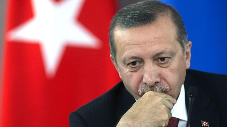 Der türkische Ministerpräsident Recep Tayyip Erdoğan; Foto: picture-alliance/RIA Novosti/dpa