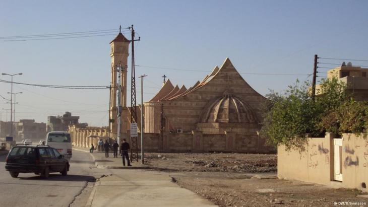 A street scene in Baghdad (photo: DW/Birgit Svensson)