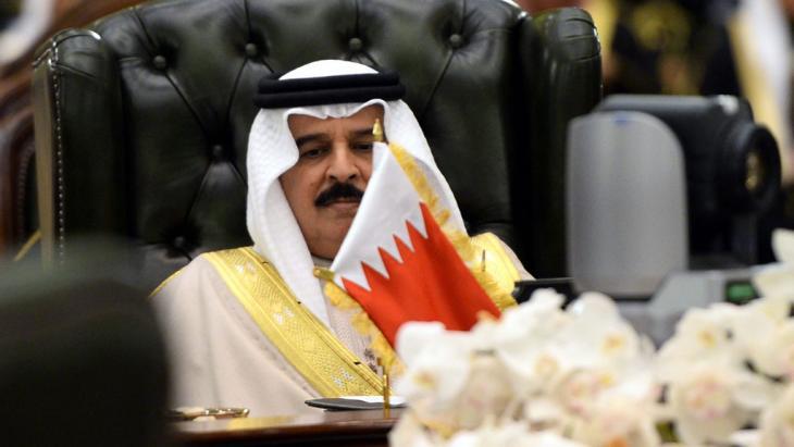ملك البحرين حَمَد بن عيسى آل خليفة. Foto: dpa/picture-alliance