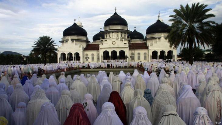 آتشه دار السلام أو آچيه أقليم من الأقاليم الخاصة في إندونسيا. Foto: AP