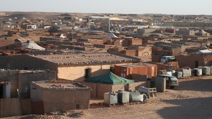 One of the Sahrawi refugee camps in Tindouf, Algeria (photo: Mahrez Ben Chenouf)