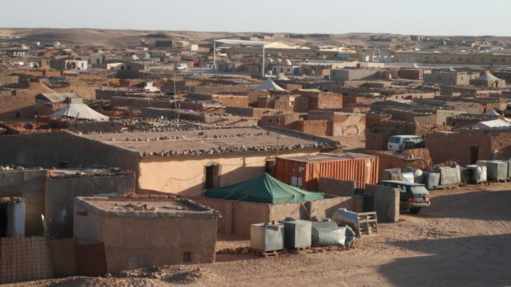 One of the Sahrawi refugee camps in Tindouf, Algeria (photo: Mahrez Ben Chenouf)