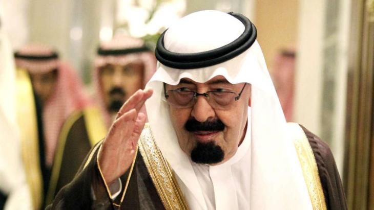 Der saudische König Abdullah bin Abd al-Aziz; Foto: dpa