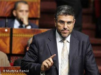 وزير العدل المغربي مصطفي الرميد. Foto: Mustapha Ramid