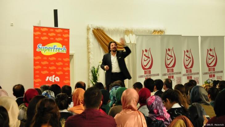 الخطاب التحفيزي الإسلامي على الطريقة الأمريكية في ألمانيا