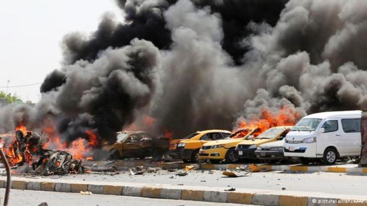 يشهد العراق أسوأ أعمال عنف منذ عام 2008
