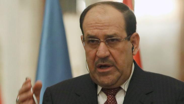 رئيس الوزراء العراقي نوري المالكي. Foto: dpa/picture-alliance