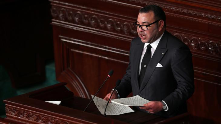العاهل المغربي محمد السادس. Foto: picture-alliance/dpa