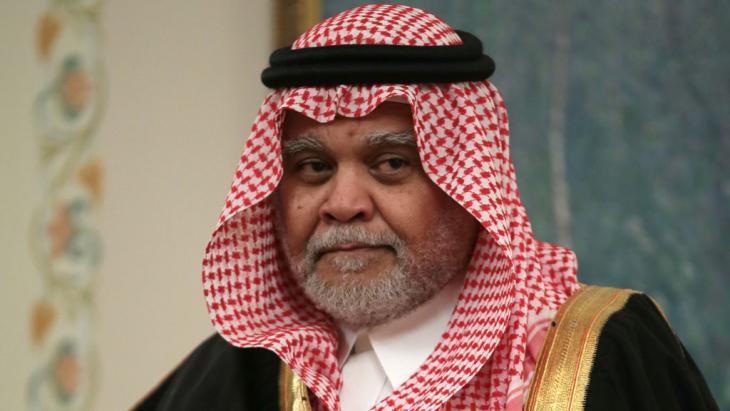 Der frühere saudische Geheimdienstchef Prinz Bandar bin Sultan; Foto: picture-alliance/dpa