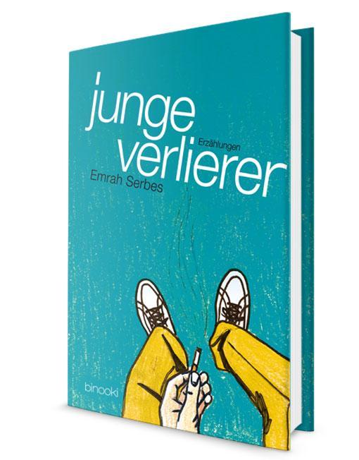 """غلاف كتاب """"شباب خاسر"""" من تأليف إيمرا سيربس  Foto: binooki.com"""