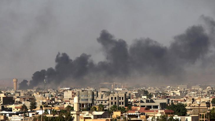 طرابلس ... مسرح للاشتباكات بين الميليشيات المتنافسة. Foto: Reuters