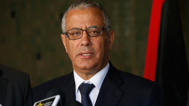 رئيس الوزراء الليبي السابق علي زيدان . Foto: Picture-alliance/AP Photo