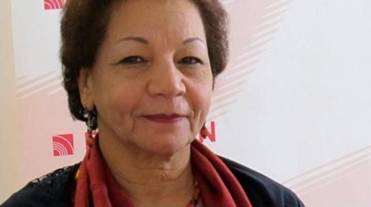 الكاتبة المصرية سلوى بكر الصورة كلاوديا منده.
