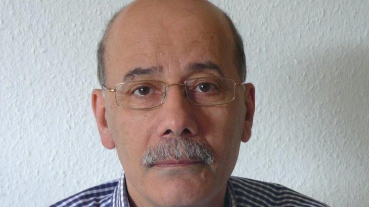 الصحفي والخبير السياسي اللبناني عبد المطلب الحسيني. Foto: privat