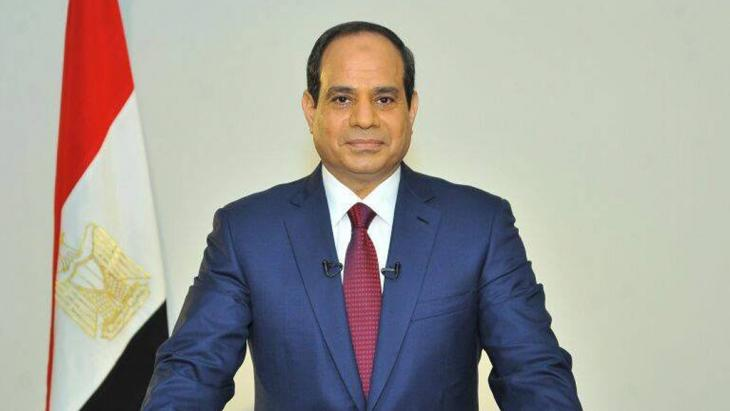 رئيس مصر عبد الفتاح السيسي. Foto: picture-alliance/dpa