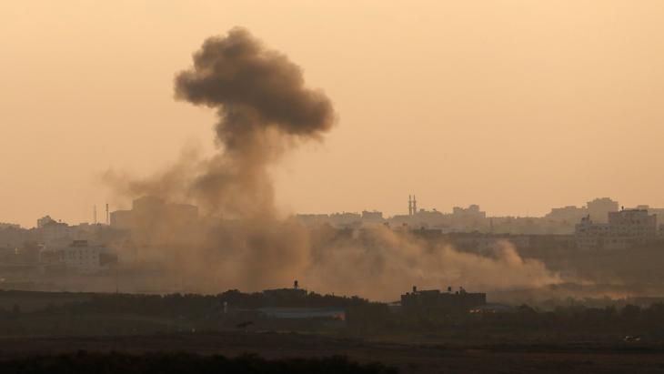 جانب من هجوم الجيش الإسرائيلي على غزة بتاريخ 09 / 08 / 2014.  Foto: Reuters