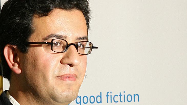 الكاتب الليبي هشام مطر. Foto: JOHN D MCHUGH/AFP/Getty Images