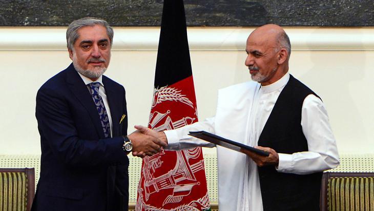 توافق في أفغانستان على حكومة وحدة وطنية. Foto: AFP/Getty Images