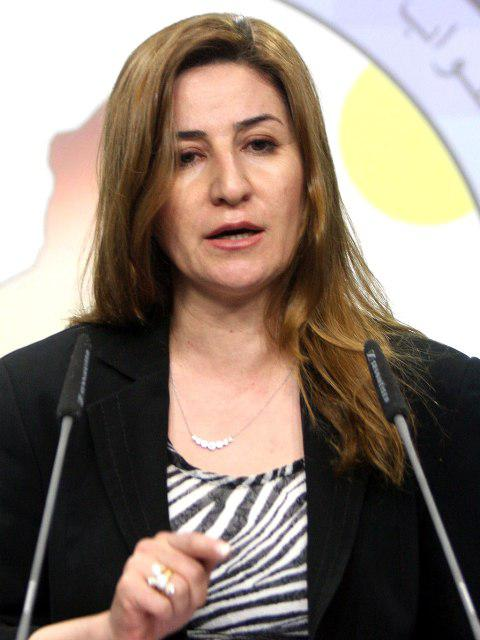 النائبة العراقية فيان دخيل. Foto: picture-alliance/A. Abbas