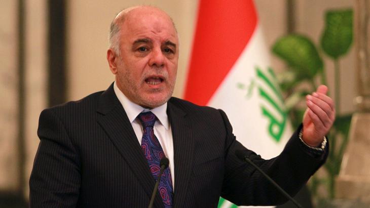 رئيس وزراء العراق حيدر العبادي. Foto: Reuters