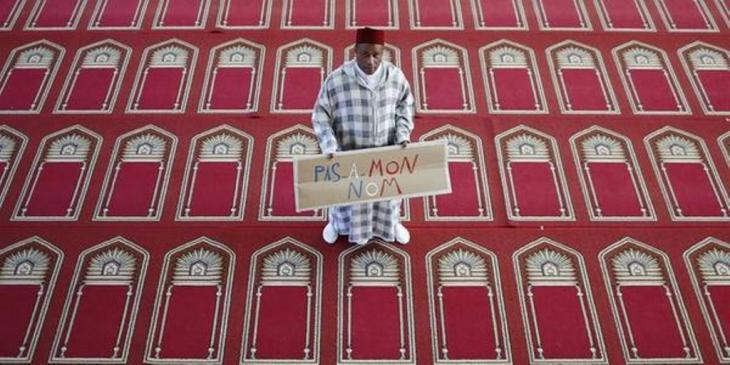 Französische Kampagne #PasEnMonNom - Nicht in meinem Namen; Quelle: #PasEnMonNom