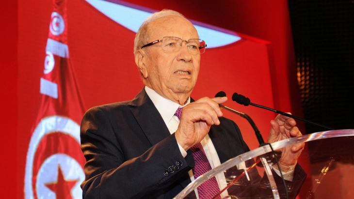 Beji Caid Essebsi Tunesien; Foto: picture-alliance/dpa