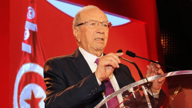 Beji Caid Essebsi Tunesien; Foto: picture-alliance/dpa