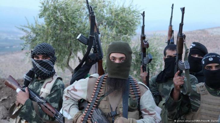 جهاديون من تنظيم الدولة الإسلامية