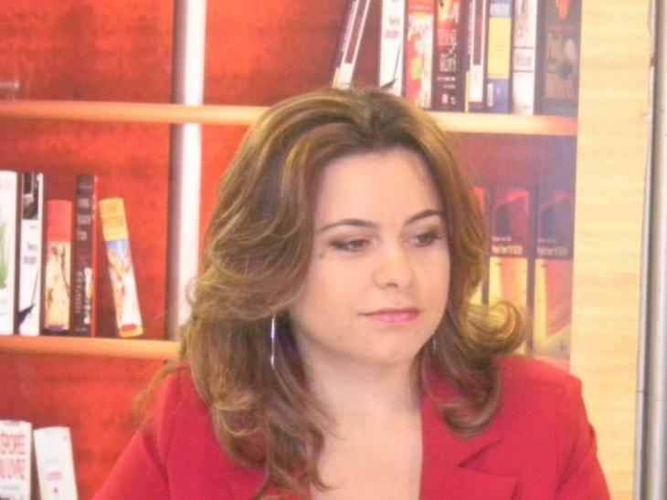 الكاتبة المغربية سناء العاجي. Foto: privat