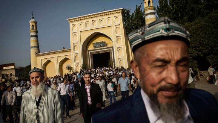 Uiguren in Kashgar; Foto: Getty Images