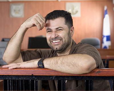 "Abdullah Abu Rahma, Koordinator des ""Bil'in Popular Committee Against the Wall""; Foto: AP"