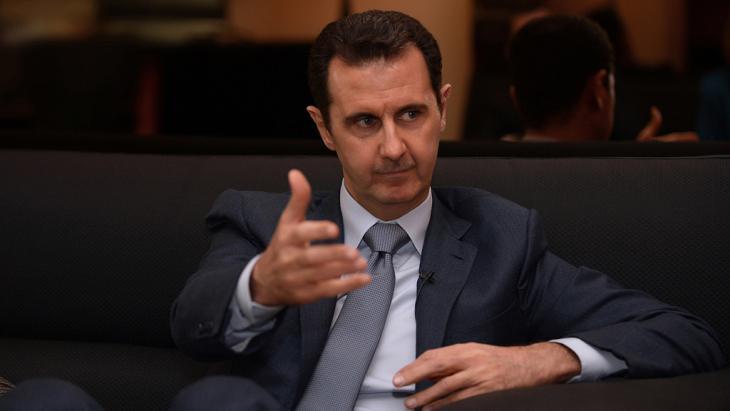 Syriens Präsident Baschar al-Assad; Foto: Reuters/Sana