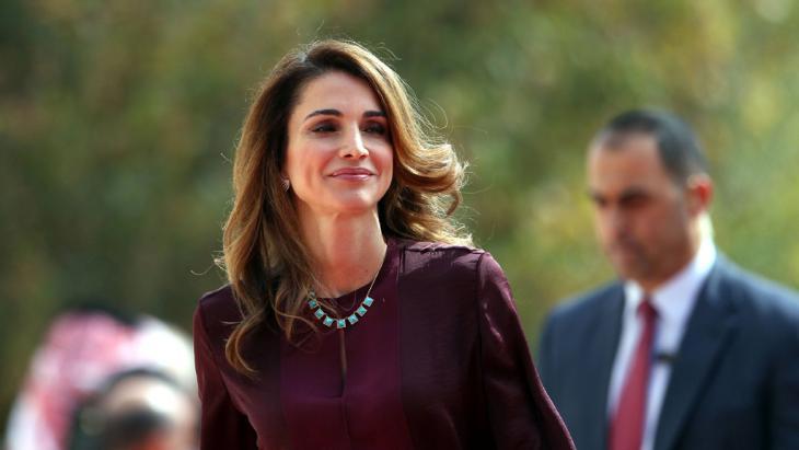 Königin Rania von Jordanien. Foto: imago/Xinhua