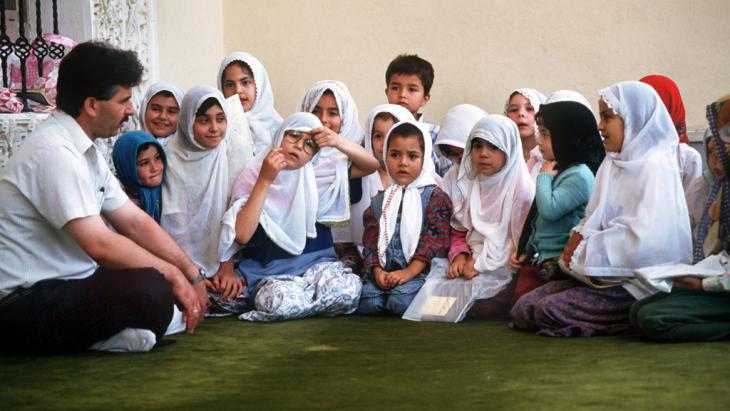 Koranschule in Burdus (Türkei); Foto: picture-alliance/dpa