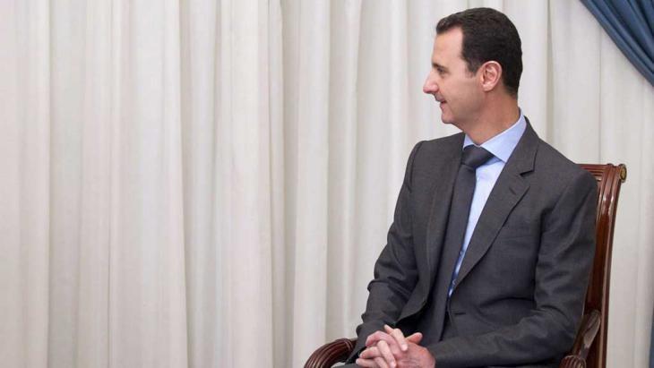 Syriens Präsident Baschar al-Assad; Foto: Reuters