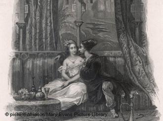 """قصص شهرزاد وحكايات """"ألف ليلة وليلة"""". Foto: picture-alliance/Mary Evans Picture Library"""